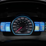 2010 Ford Fusion Hyrbid Instrument Cluster